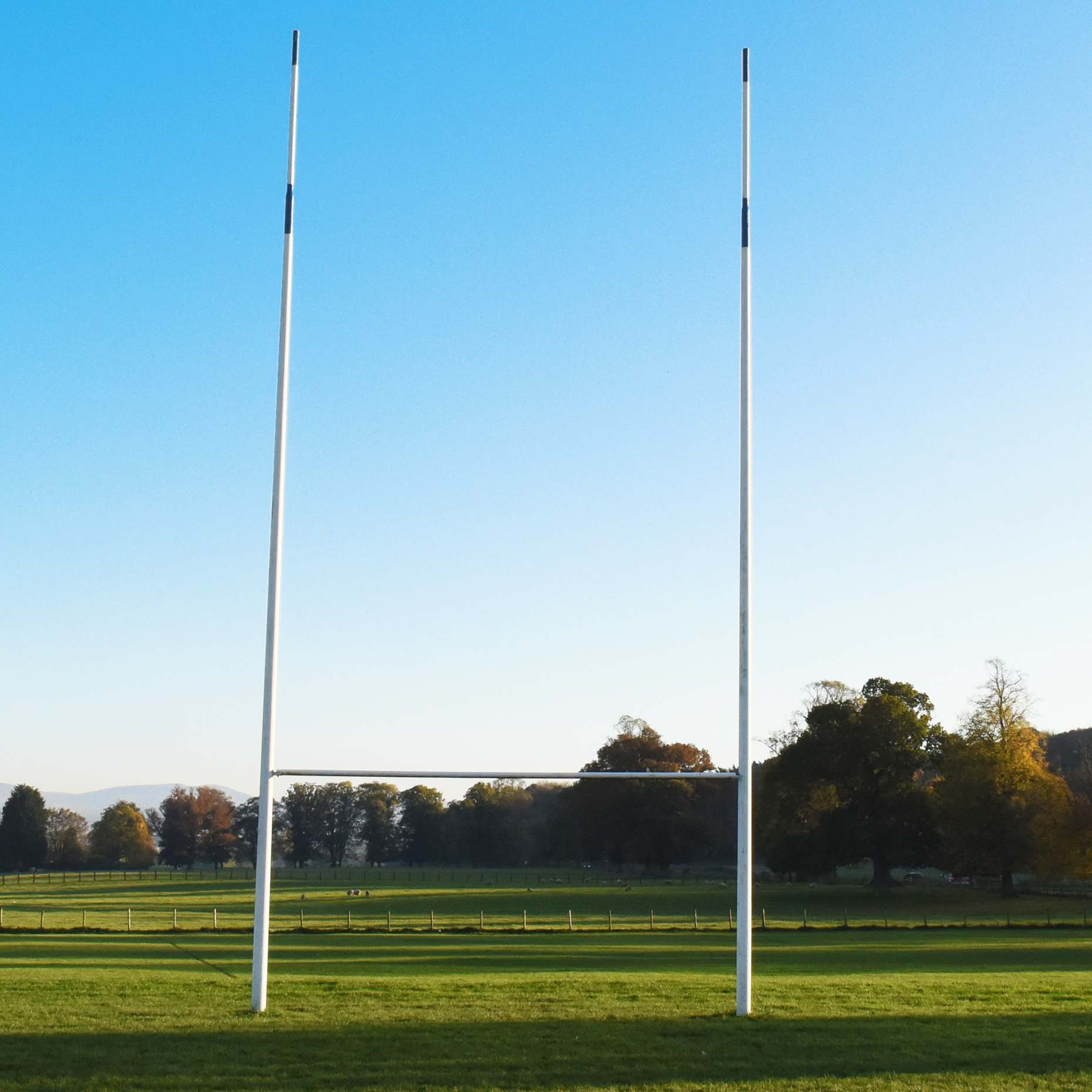 Heavy Duty Steel Socketed Rugby Posts Net World Sports