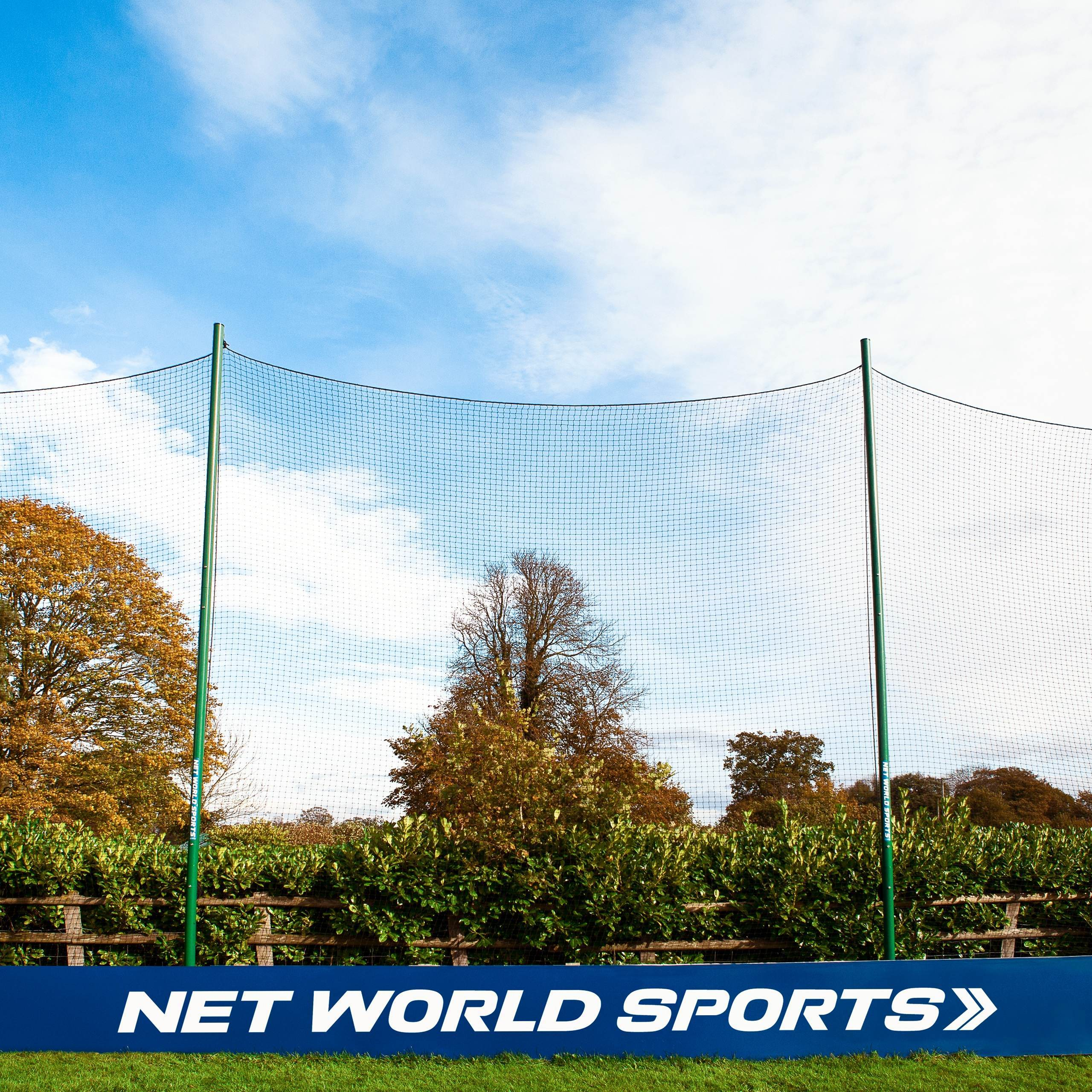 Backstop netting for cricket practice