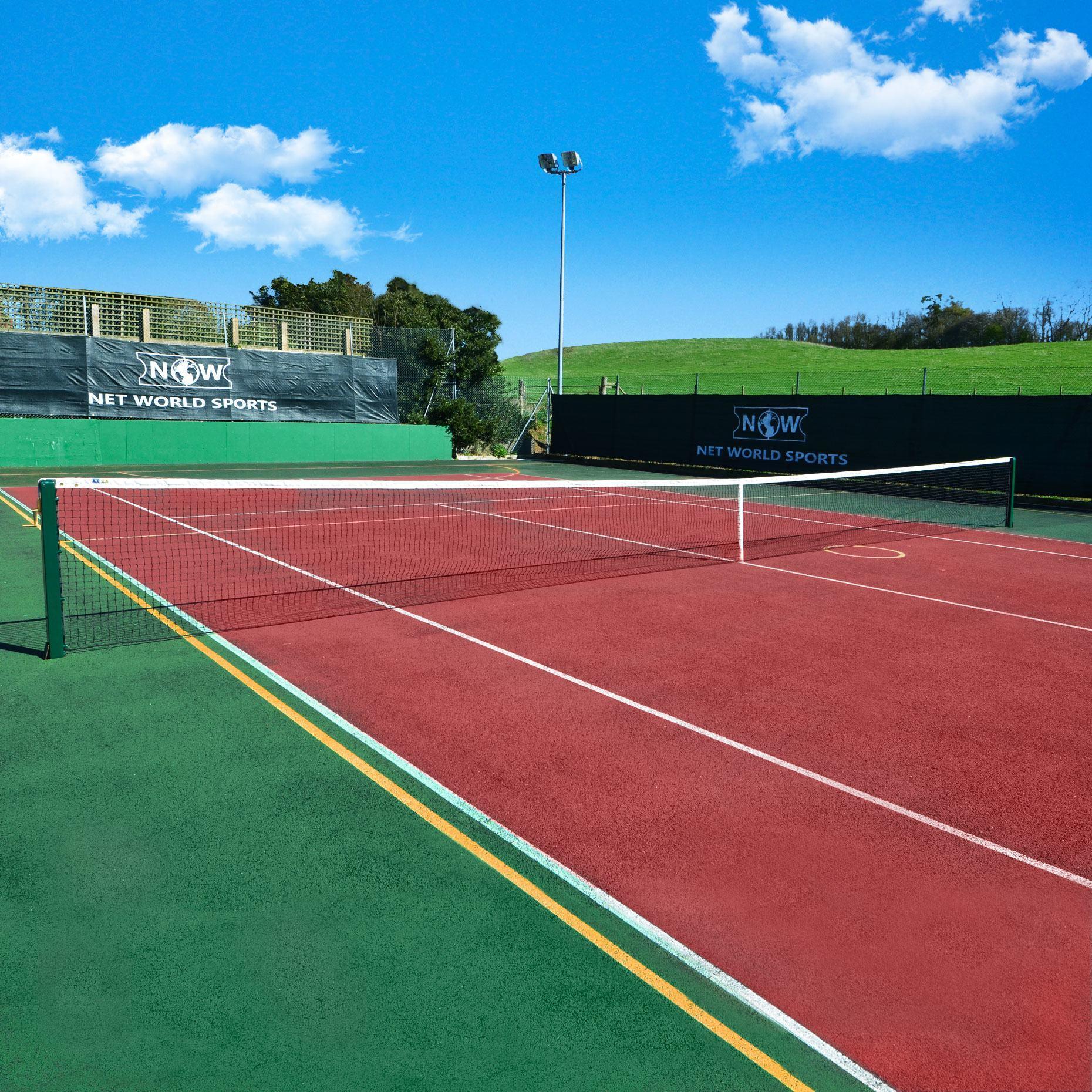 3.5mm DT Championship Tennis Net - Court