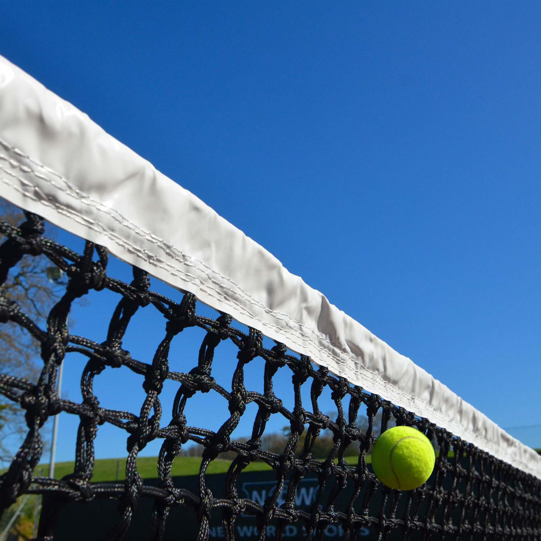 3.5mm Tennis Net Twine w/ Tennis Ball