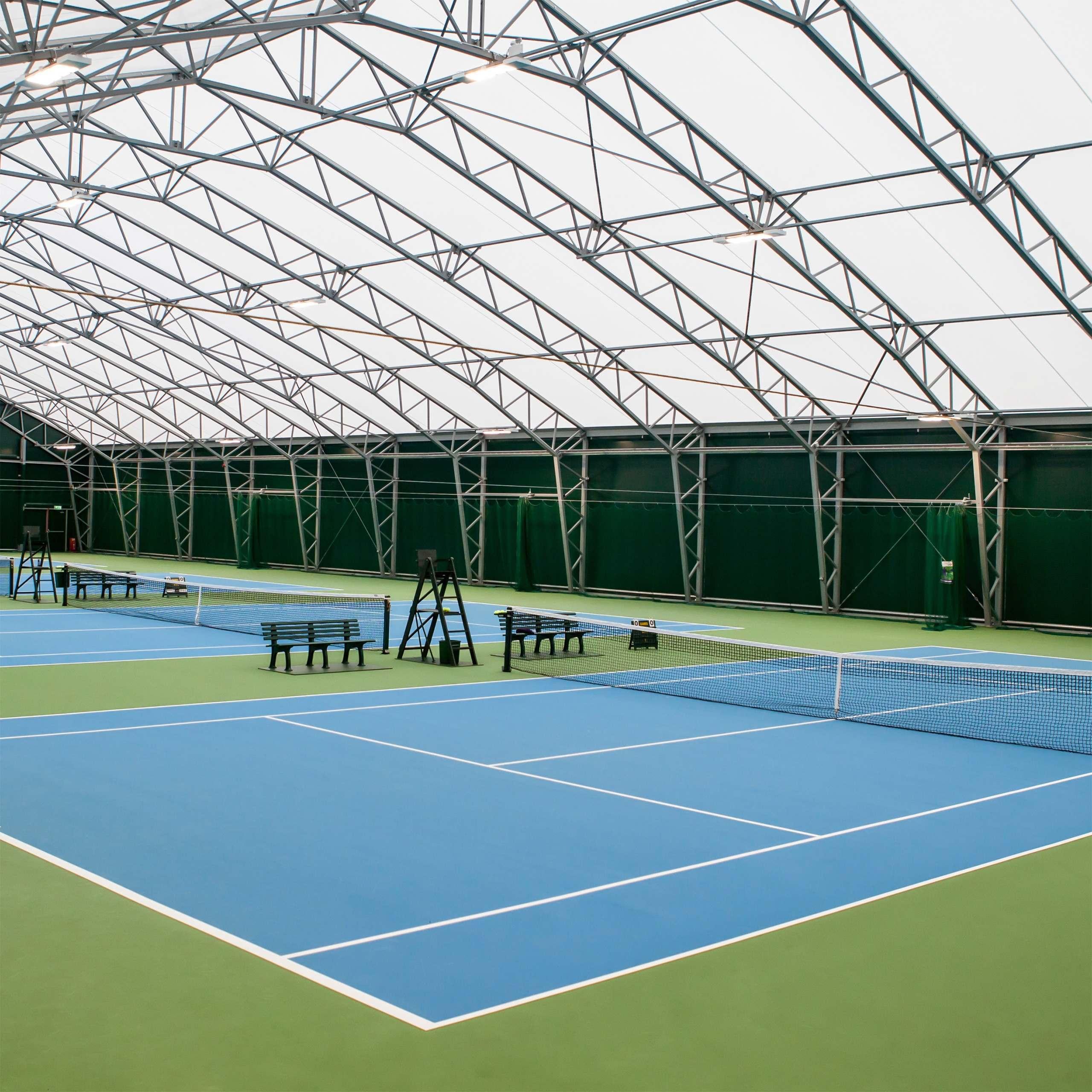 Tennis Court w/ DT Championship Net